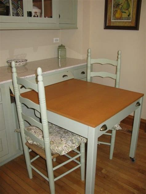 Great Kitchen Pull Out Table   Decor   Hidden Tables