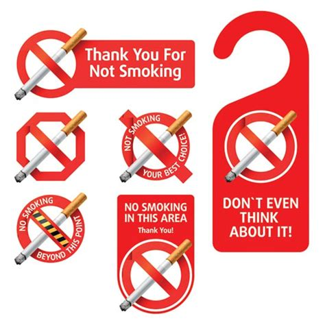 no smoking sign vector ai no smoking signs vector