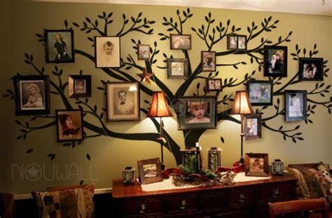 tree wall decals wall stickers family from nouwall on etsy