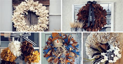 17 gorgeous diy fall wreath ideas to decorate your front