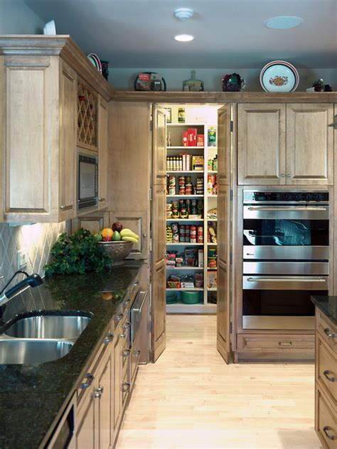 create more space with kitchen by designing walk in pantry