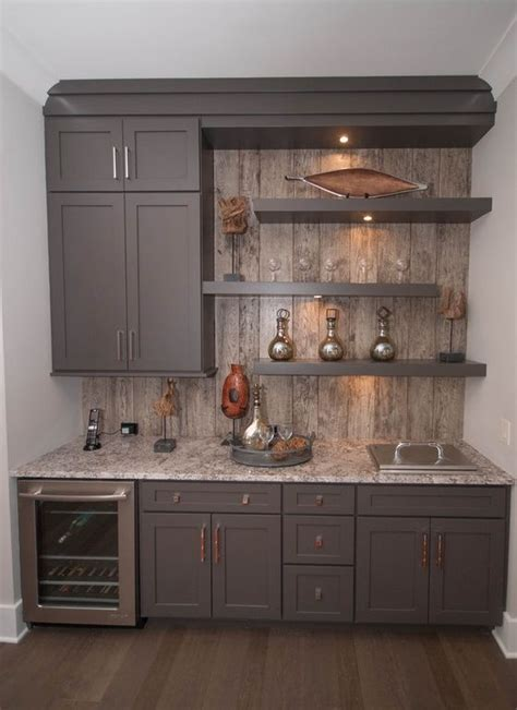 built in bar built ins and wine fridge on pinterest 105 best dry wet bar design ideas images on pinterest