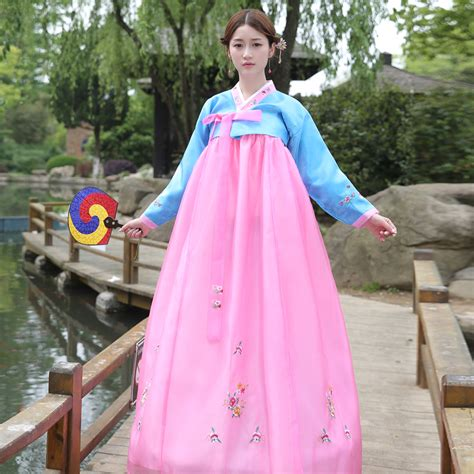 Hanbok Royal 1 2018 new traditional wedding palace daily performances of korean hanbok clothing