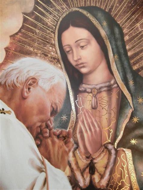 imagen virgen de guadalupe y juan pablo ii liturgia cat 211 lica divino tesoro quot misas de la virgen