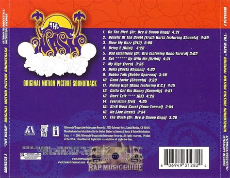 the wash the wash soundtrack cds rap guide