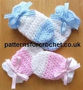 Ravelry pfc63 baby mitts free crochet pattern pattern by patternsfor