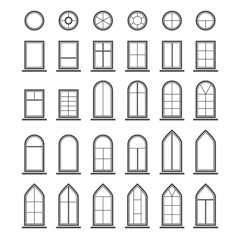 Different Shapes Of Windows Inspiration Different Shapes Of Windows Inspiration Window Shapes Proyecto Arquitectura Shape Are My