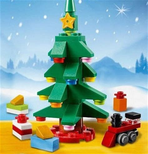 lego christmas tree 30286 polybag revealed bricks and bloks