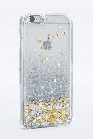 coque pour iphone  avec eau  paillettes coque de portable coque de portable accessoires