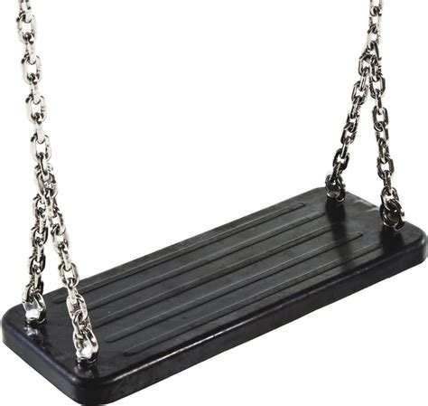heavy duty swing high quality heavy duty rubber swing seat with galvanised