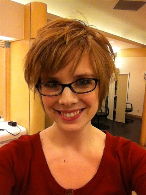 Wedding Hairstyles With Glasses by Hair Pixie Cut Hairstyle With Glasses Ideas 61