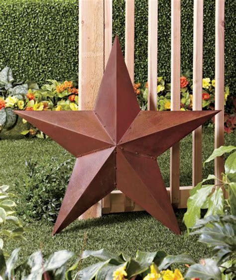 star home decor 36 quot rustic dimensional barn star for home shed garage