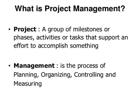 Mba 641 Project 4 by Mba Ii Pmom Unit 4 1 Project Management A