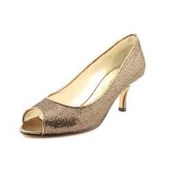 Caparros caparros denver women peep toe bronze heels heels amp pumps