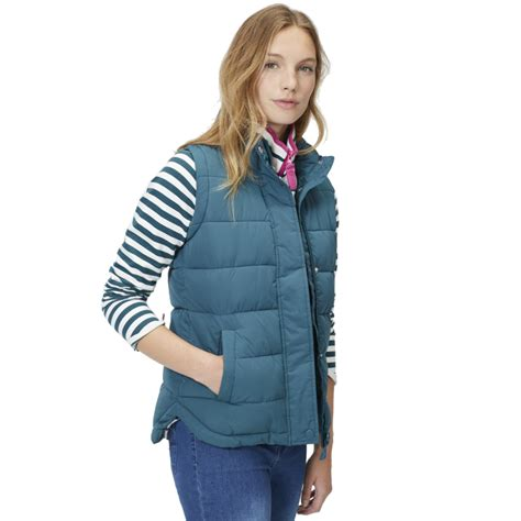 joules clothing womens eastleigh warm padded gilet
