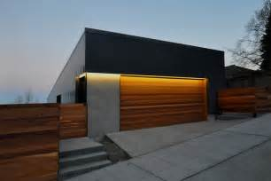 cool garage ideas with black finish block and exposed concrete modern doors steel wood search