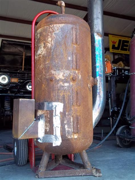 welded garage rocket rocket stoves forum at permies