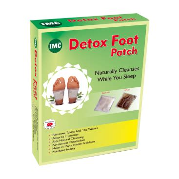 Detox Patches On Stomach by Detox Foot Patch