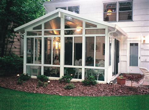 Four Seasons Patio Covers Aluminum Solid Cathedral Roof Sunroom By Sunboss Room