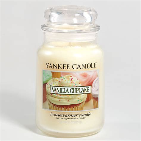 yankee candele yankee candle vanilla cupcake large jar yankee candle