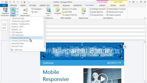 outlook html email templates create mobile responsive html email templates in outlook