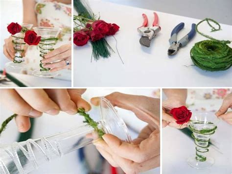 Holiday Inspired Wedding Decor  5 DIY Wedding Flowers
