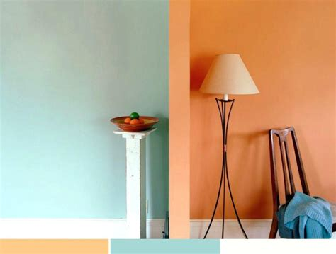 farbige wandgestaltung ideen