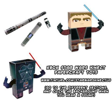 Wars Lightsaber Papercraft - ninjatoes papercraft weblog d l official starwars