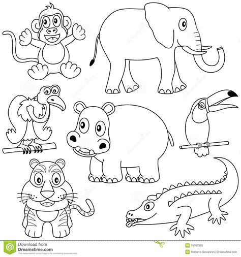 coloring pictures of animals in africa animals coloring pic of africa coloring pages