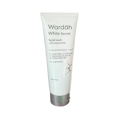 Pasaran Wardah White Secret jual wardah white secret wash harga