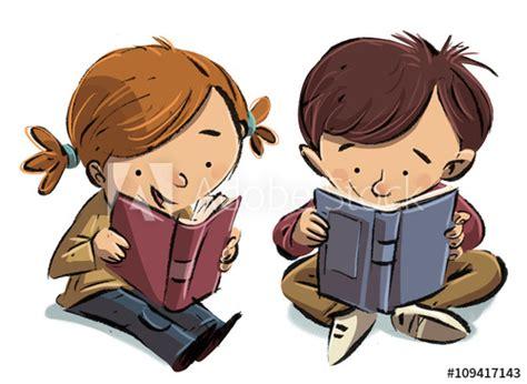 imagenes de niños leyendo y escribiendo ni 241 os leyendo libros buy this stock illustration and