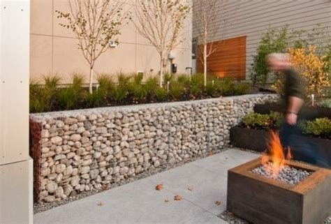 Landscape Rock Hesperia Ca Gabion Retaining Wall Ideas United States Of America