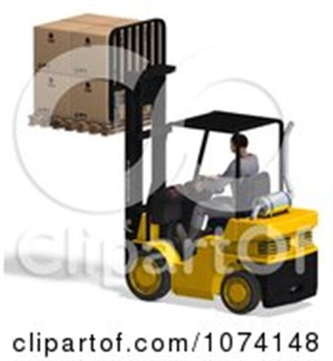 Warehouse Forklift Operator by Royalty Free Shipping Illustrations By Ralf61 Page 1