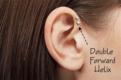 how to care for a helix or forward helix piercing things you should know before getting a double helix piercing