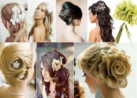 Different Kinds Of Hairstyles by 5 Types Of Wedding Hairstyles Hairstyles