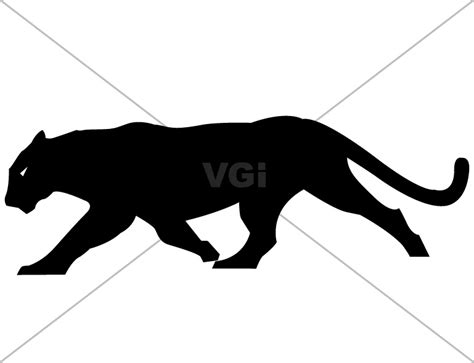 panther clip panther silhouette clipart