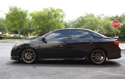 2010 Toyota Corolla Rims Enkei Wheels Flc 01 Bronze Paint