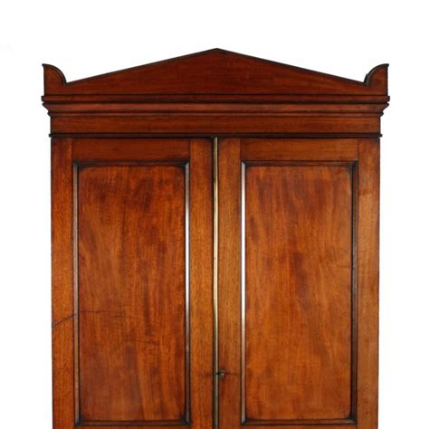 Regency Wardrobe Doors by Antique Two Door Wardrobe Regency Mahogany Wardrobe