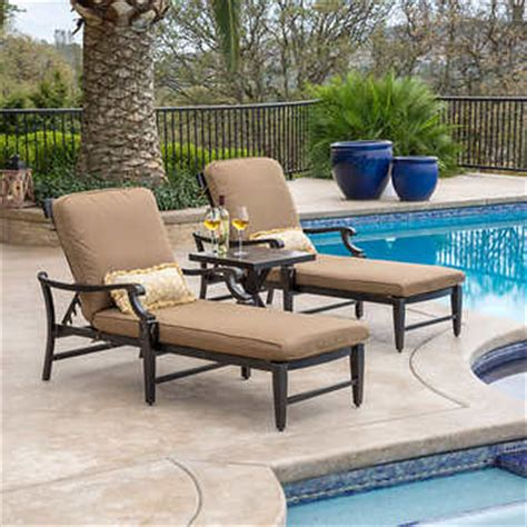 costco chaise lounge outdoor broadway 3 piece chaise lounge set