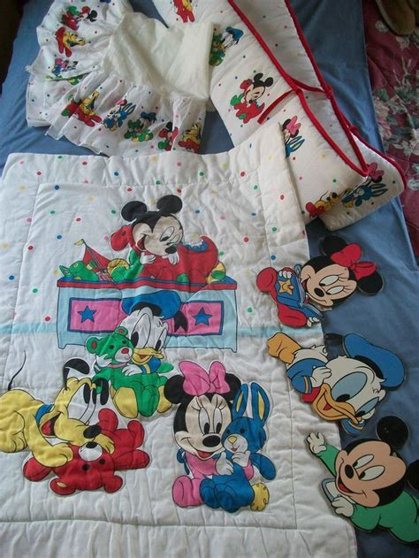 vintage mickey crib bedding 284 best images about 80s 90 s vintage baby on
