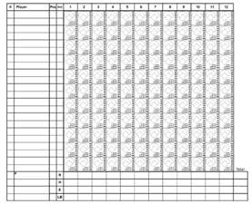 Softball Scorecard Template by Printable Softball Scorecards Softball Score Sheet