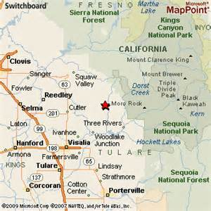 woodlake california map woodlake california