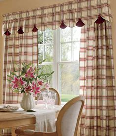 country plaid kitchen curtains 1000 images about curtains on country