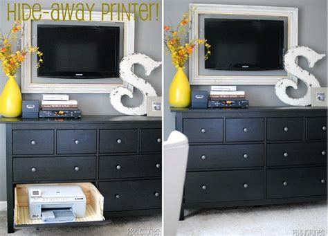 hide printer 21 ingenious ways to hide the mess and the eyesores in