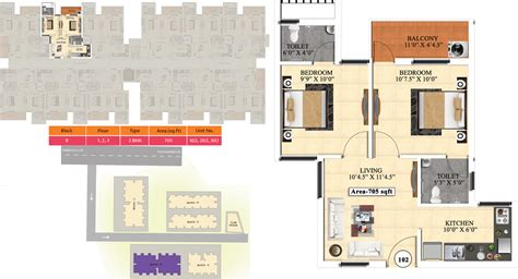 ideal homes floor plans 705 sq ft 2 bhk 2t apartment for sale in vijay raja ideal