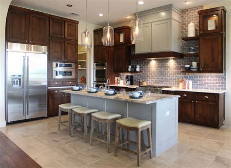 kitchen island different color than cabinets different house designs the best home design