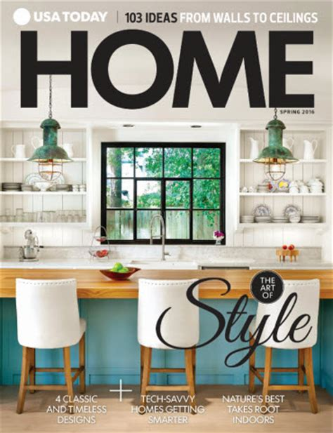 home and design magazine 2016 usa today home spring 2016 usa today online store