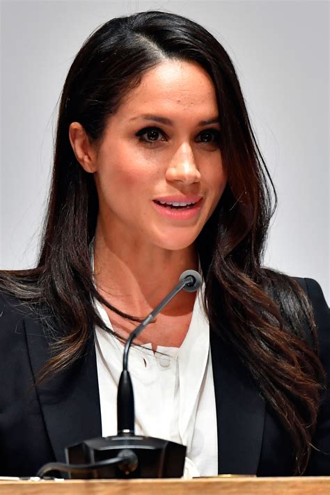 meagan markle meghan markle gives her first royal speech ever people com