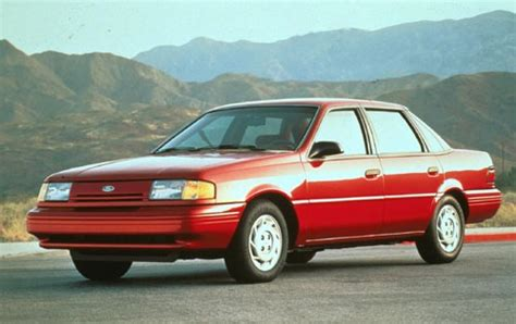 auto air conditioning repair 1989 ford tempo windshield wipe control used 1994 ford tempo pricing for sale edmunds
