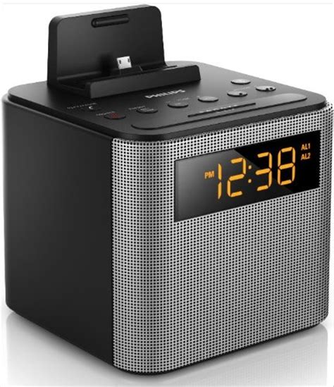 alarm clock android philips ajt3300 37 bluetooth dual alarm clock radio iphone android speaker dock speakerphone